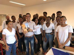 EF France dans les locaux de L'EGC Guyane
