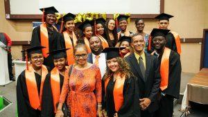 Cérémonie de remise de diplôme de la promotion 7